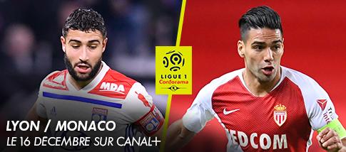 Ligue 1 - Ligue 1 - LYON / MONACO